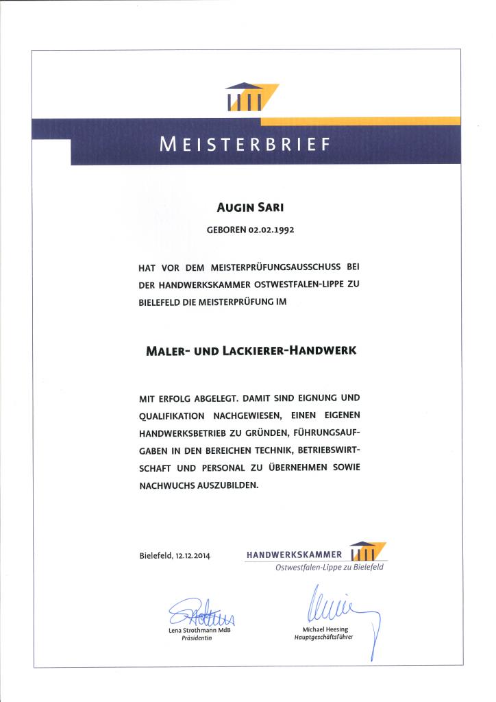 Meisterbrief